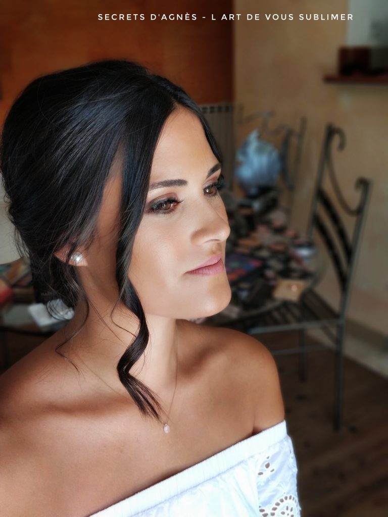 maquillage mariage invitée
